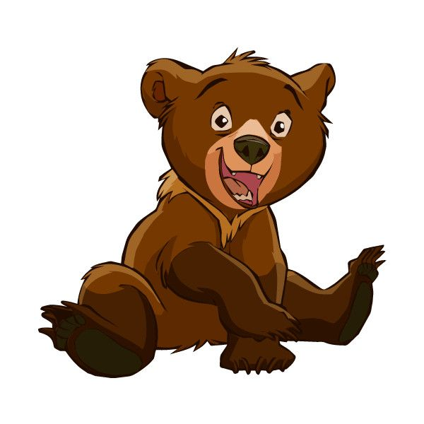 Figure clipart brother. Bear liked on polyvore