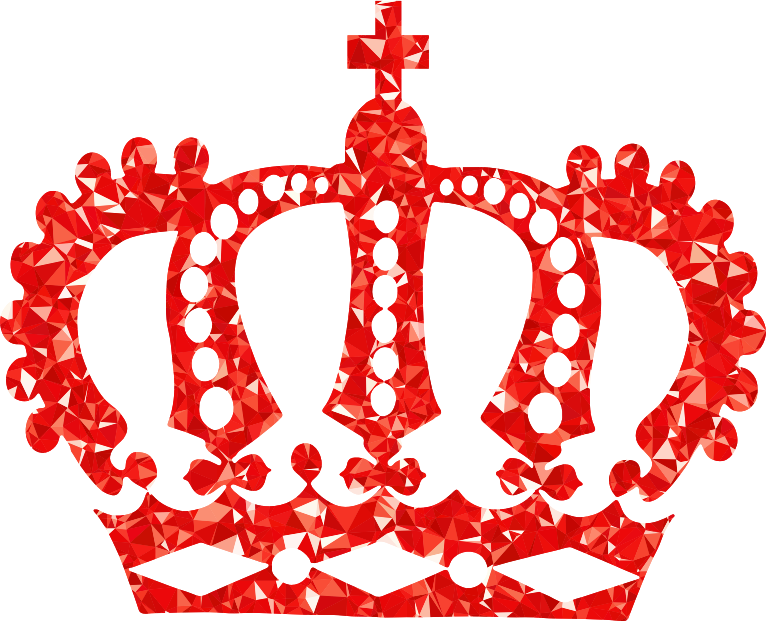 Figure clipart crown. Heart outline free ruby
