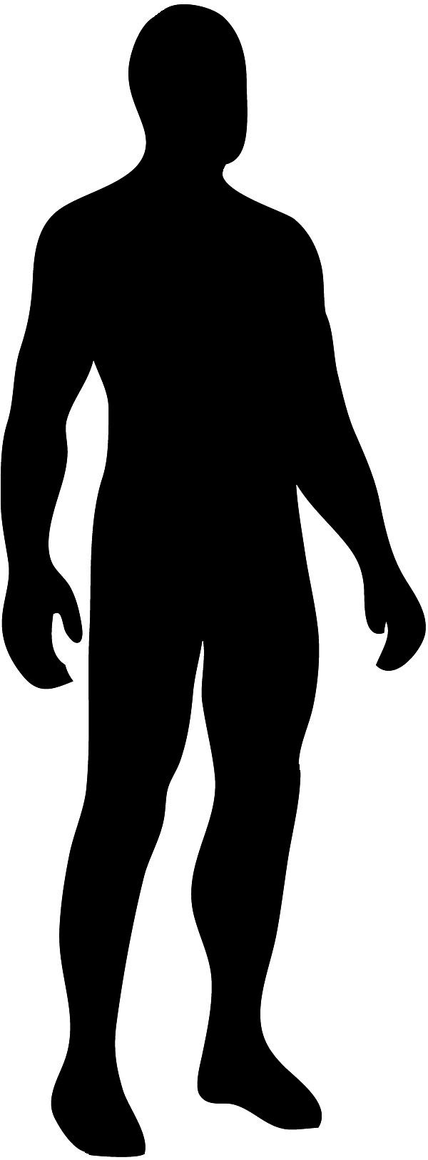 Figure clipart human. Silhouette at getdrawings com