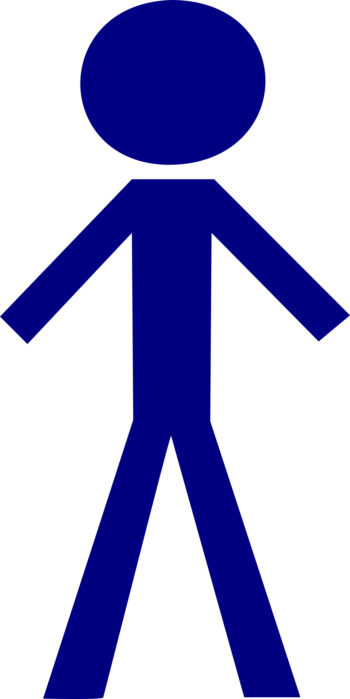Figure clipart human. Stick male big image