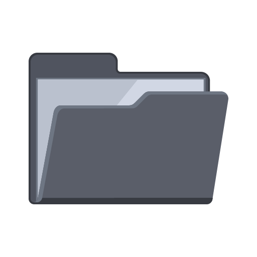 File folder icon png. Empty flat iconset pelfusion