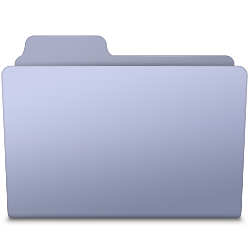 File folder png. Generic lavender icon smooth