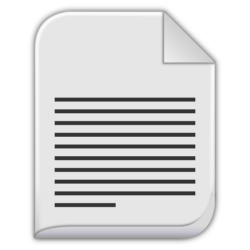 Text file icon png. Index of resources images