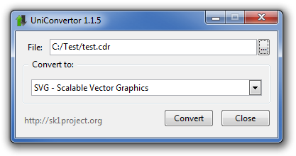 File vector cdr. Convert files for free