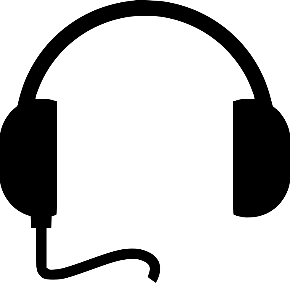 File vector headphone. Headphones svg png icon