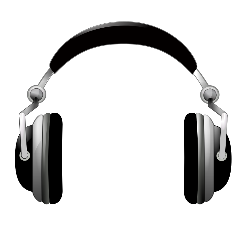 File vector headphone. Oxygen devices audio headphones