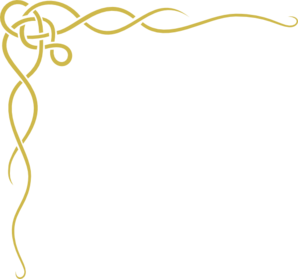 Gold filigree png. Clipart