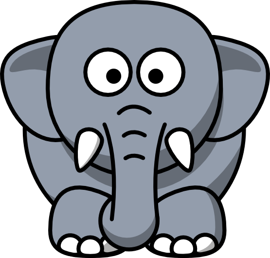 Filigree clipart elephant. Index of animalclipart