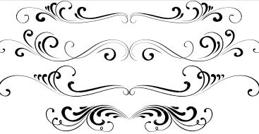Filigree clipart frilly. Group free scroll cliparts