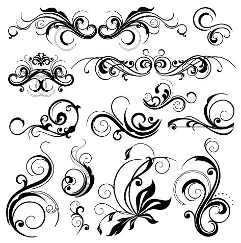 Filigree clipart frilly. Super cool bits typography
