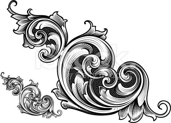 Filigree clipart royal filigree. Designed by a hand