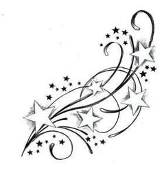 Filigree clipart star. Tattoos design tattoo artists