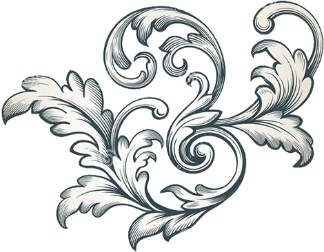 Repeating filigree png. Download stock photography lace