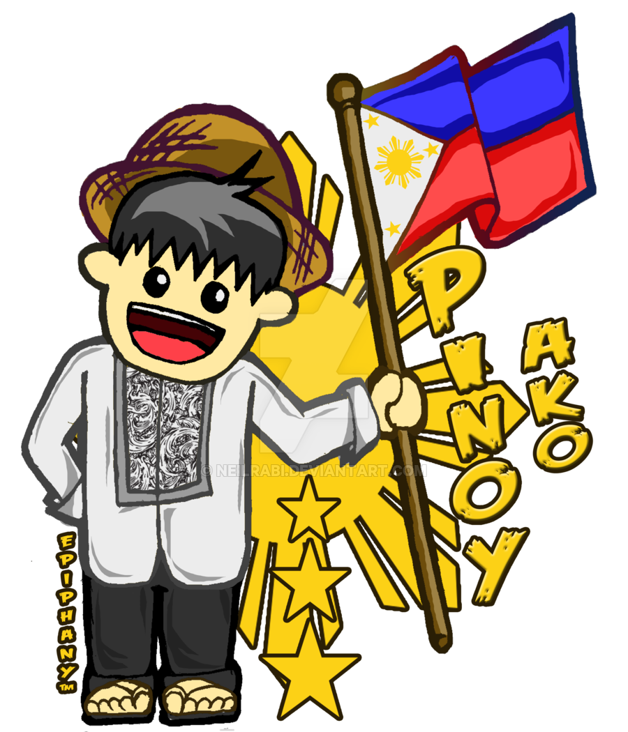 Filipino drawing clipart. Philippines pinoy values culture