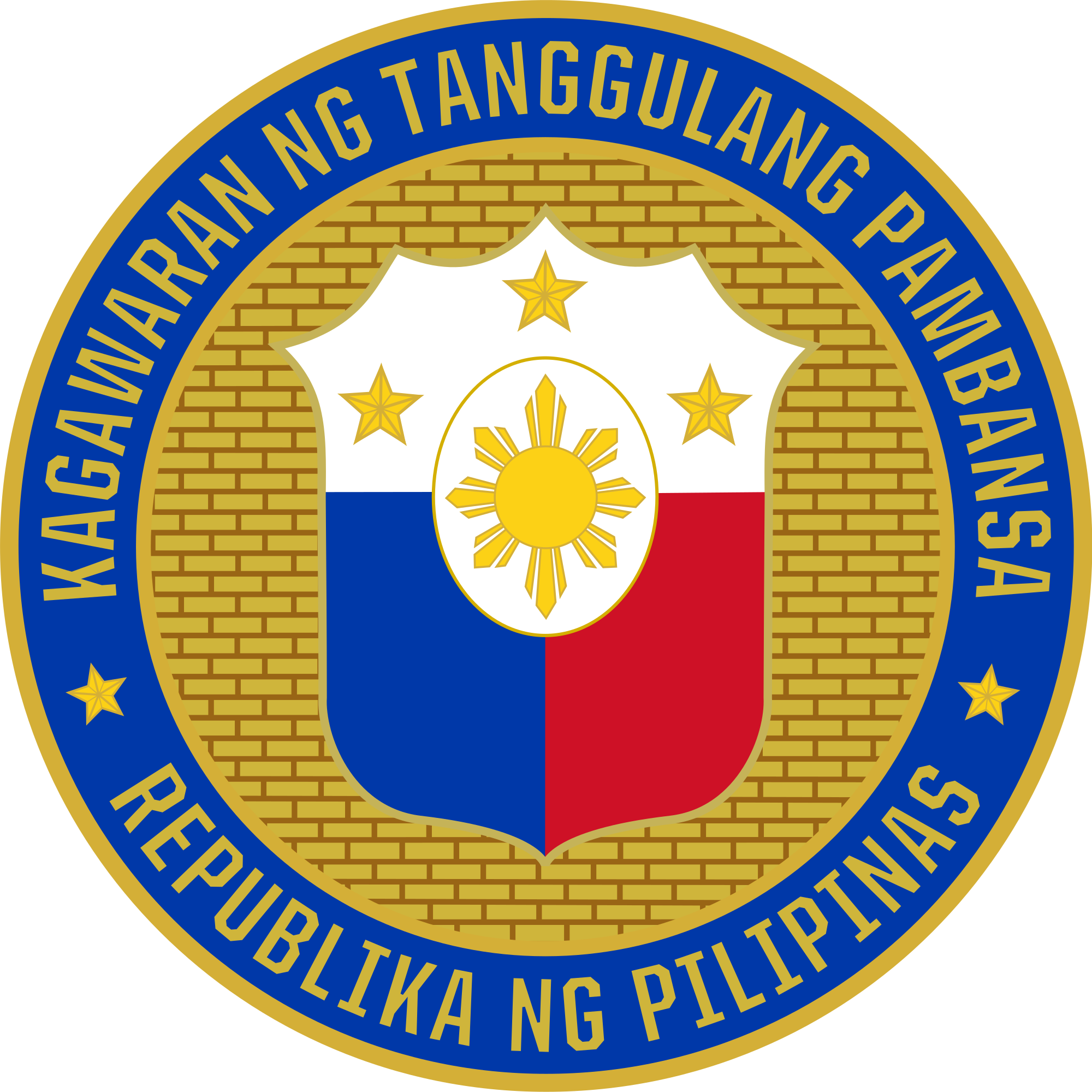 Filipino drawing bansa. Department of national defense