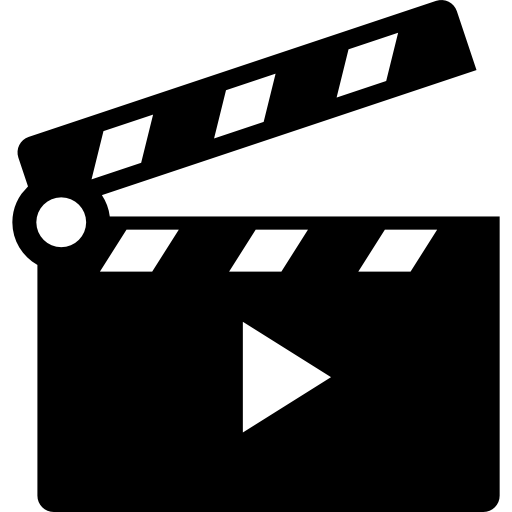 Movies vector different genre. Cinema icons free files