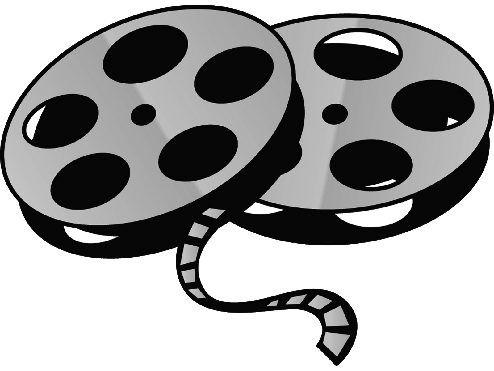 Film clipart animated movie. Cartoon physic minimalistics co
