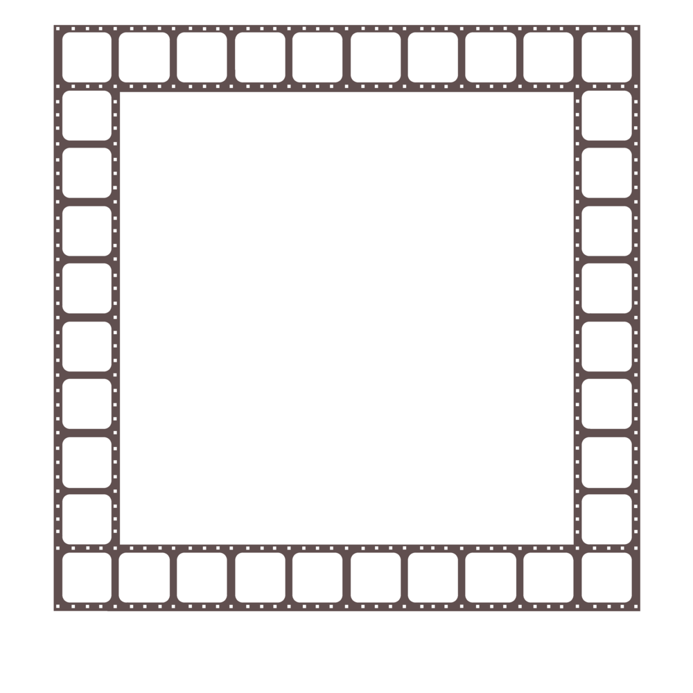 Filmstrip vector cinema. Free film border cliparts