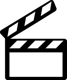 Film clipart clapper board. How to make a