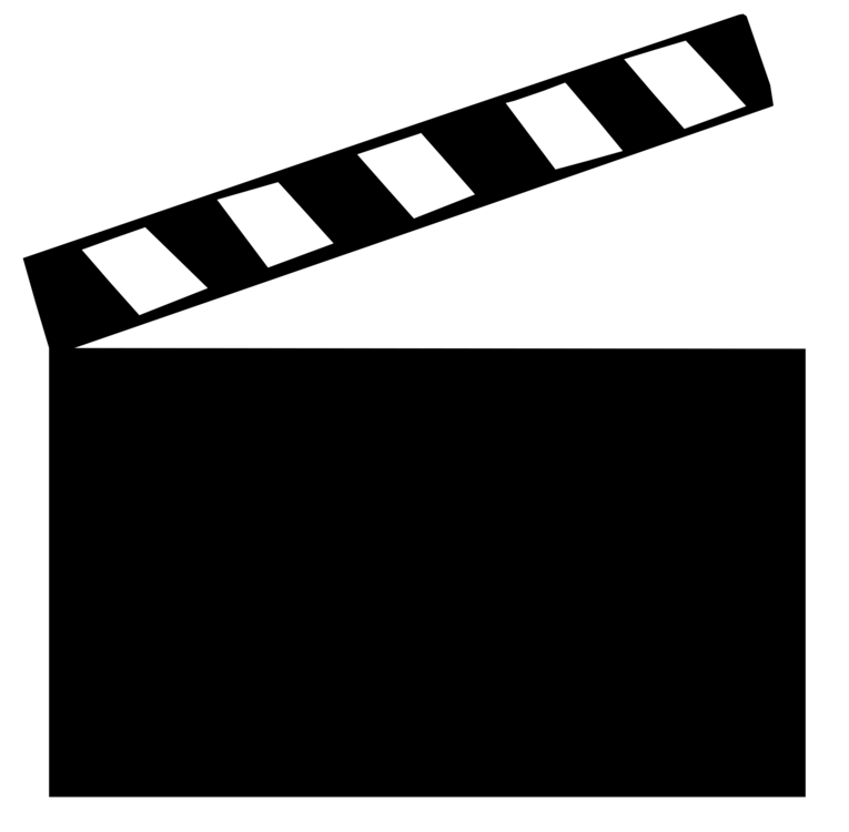 Film clipart clapper board. Clapperboard filmmaking computer icons