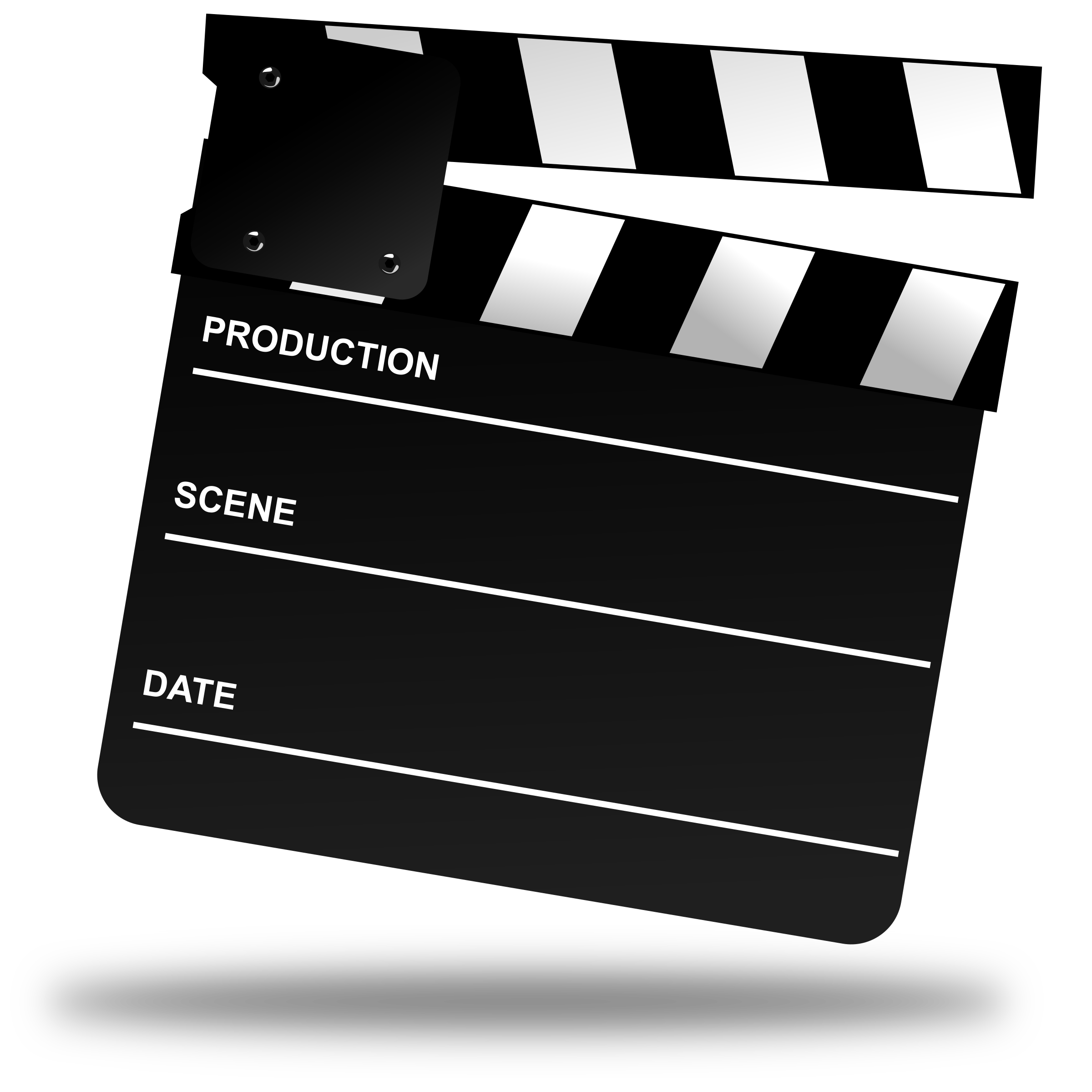 Film clipart clapper board. Movie big image png