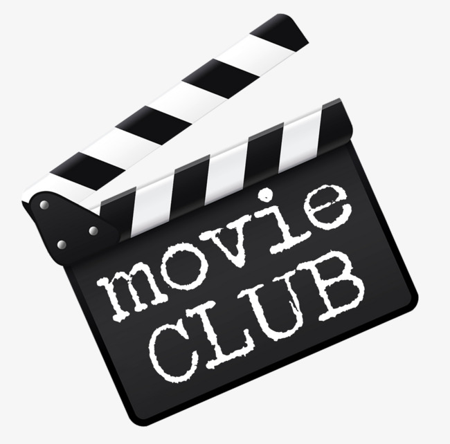 Film clipart film club. The power clappers png