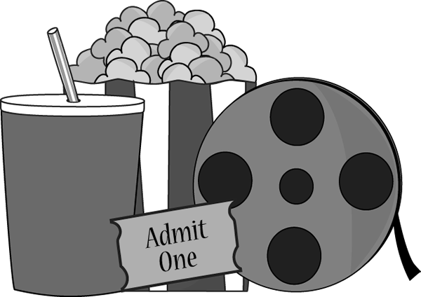 Film clipart movie concession. Make tonight a night