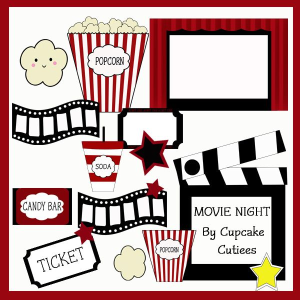 Film clipart movie concession. Best sweet images