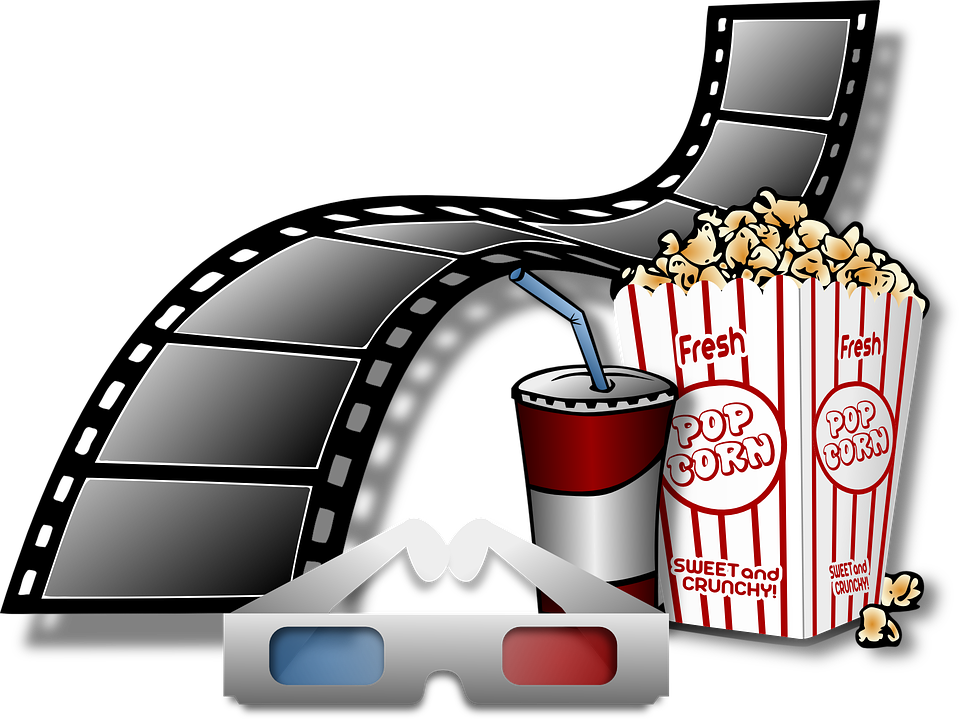 Film clipart soda. Popcorn with a taste