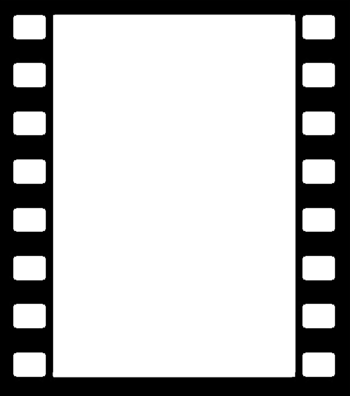 Film reel border png. Collection of clipart