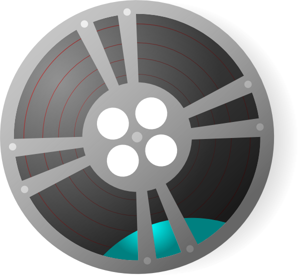 Film reels png. Video reel clip art
