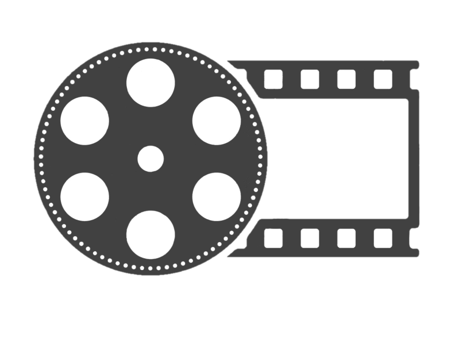 Film roll png. Round logo by bssindex