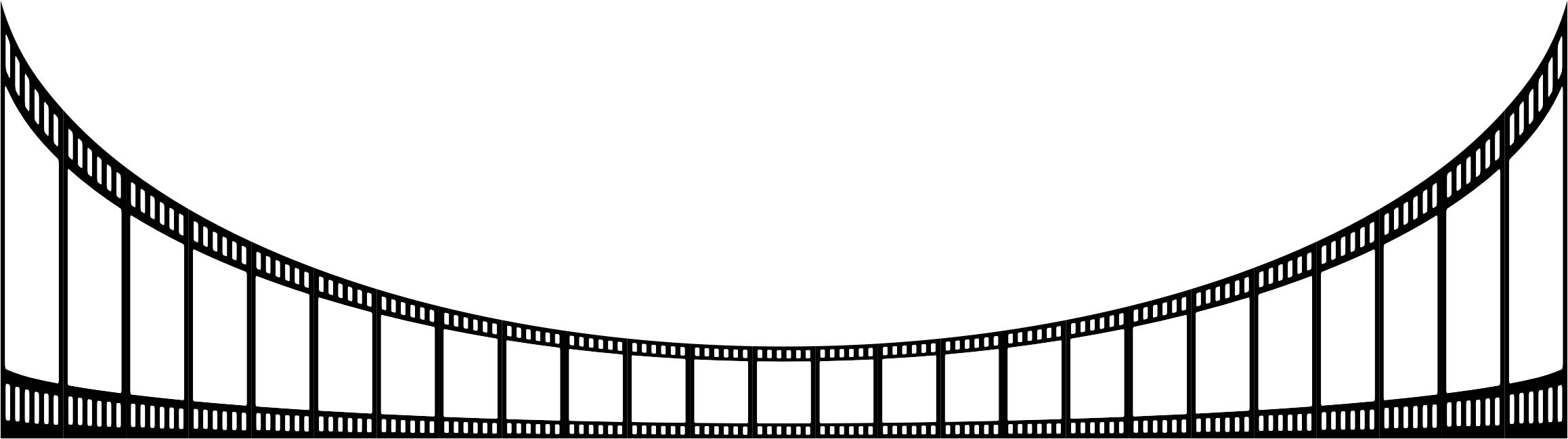 Film strips png. Strip perspective icons free