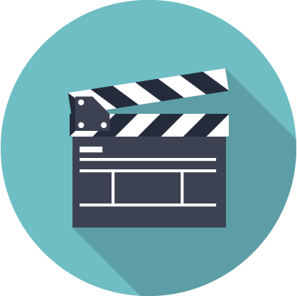 Movies vector art. Movie free icons and