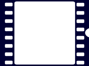 Filmstrip vector cinema. Navy blue film strip