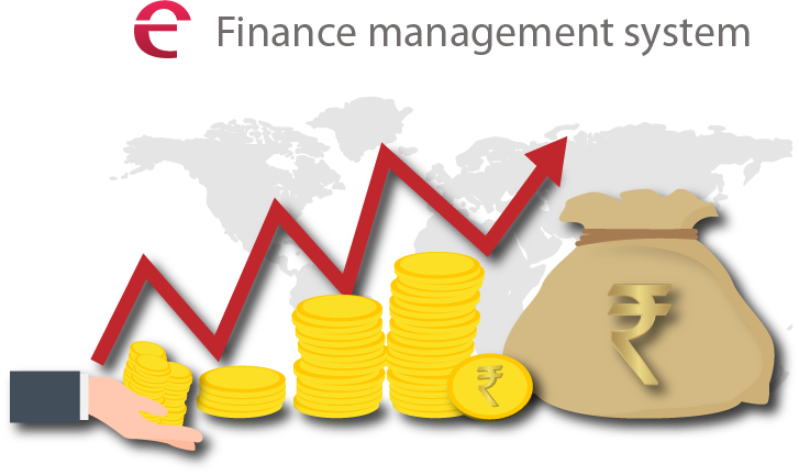 Finance clipart financial control. Management system connect solution