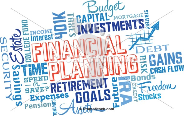 Financial clipart financial planner. Planning word cloud clip