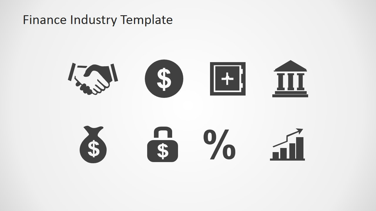 Financial clipart loan. Finance industry for powerpoint