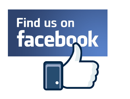 Find us on facebook png. With thumb up transparent