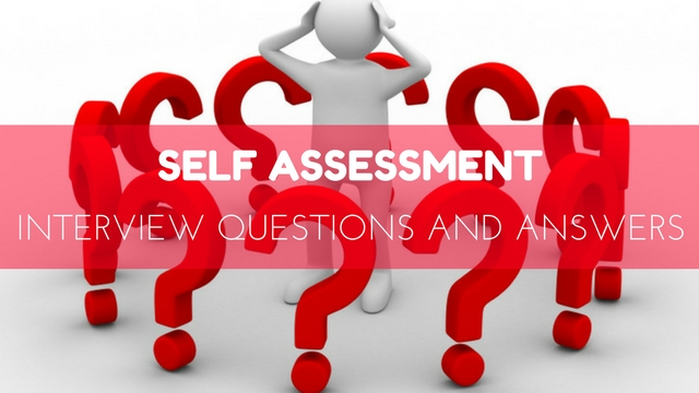 Finding clipart performance assessment. Top self interview questions