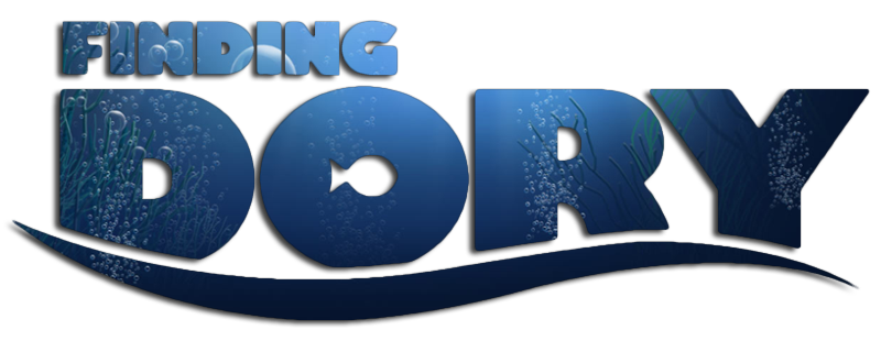Finding dory logo png. Puzzles by ravensburger life