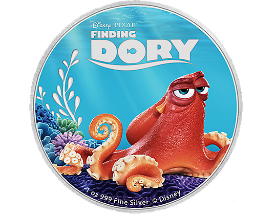 Finding dory octopus png. Disney pixar coloured fine