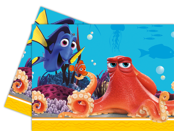 Finding dory octopus png. Plastic tablecover the party