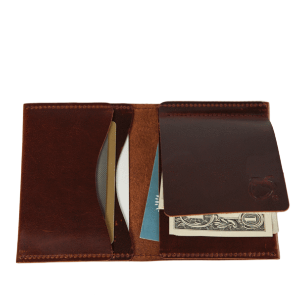 Wallet transparent cash only. The clipster leather money