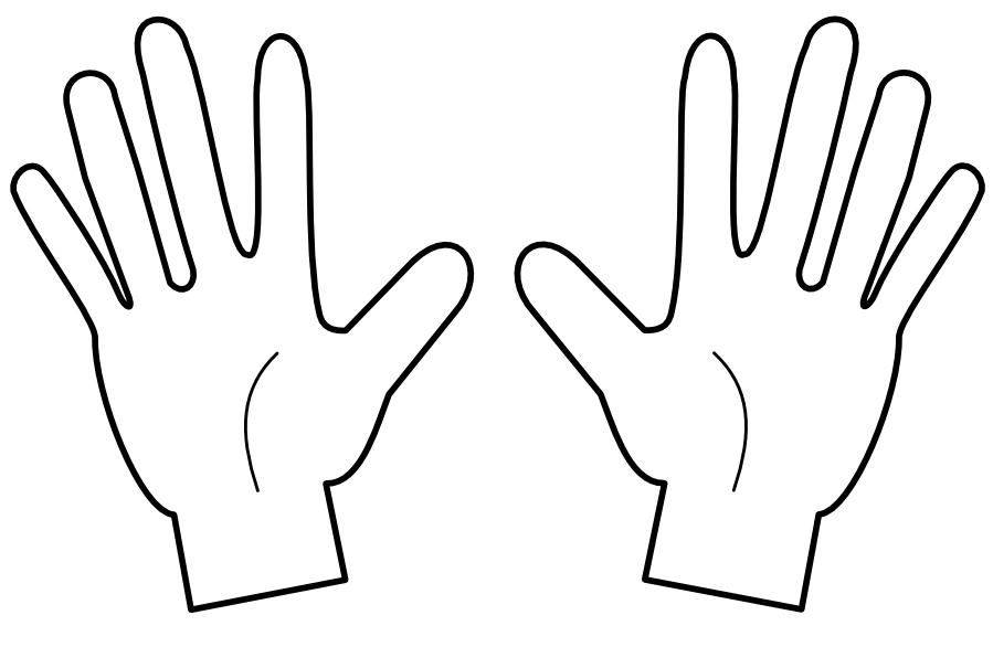 Fingers clipart. Middle finger free download