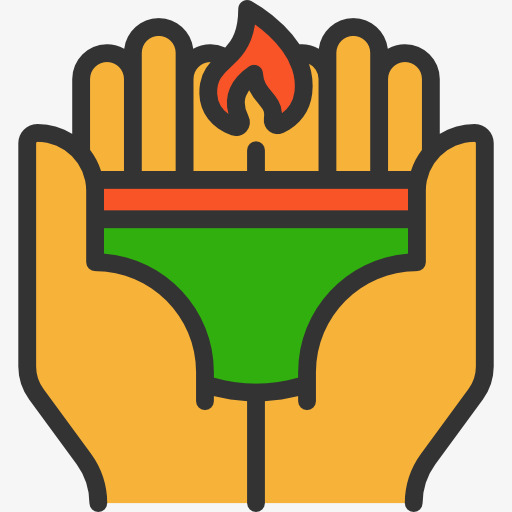 Finger clipart fore. Fire hands flames booming