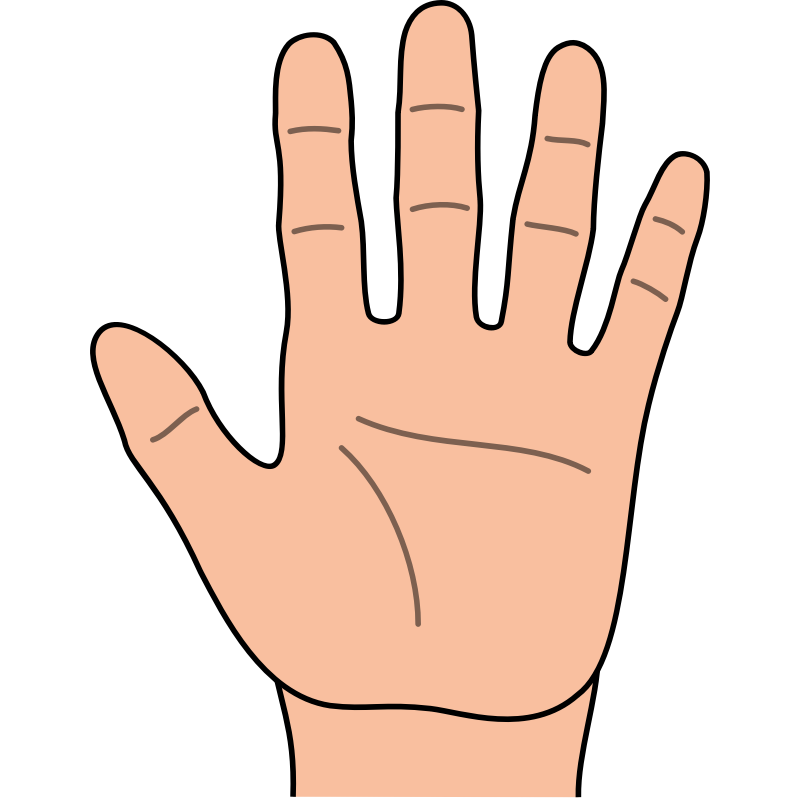 Finger clipart png. Collection of fingers