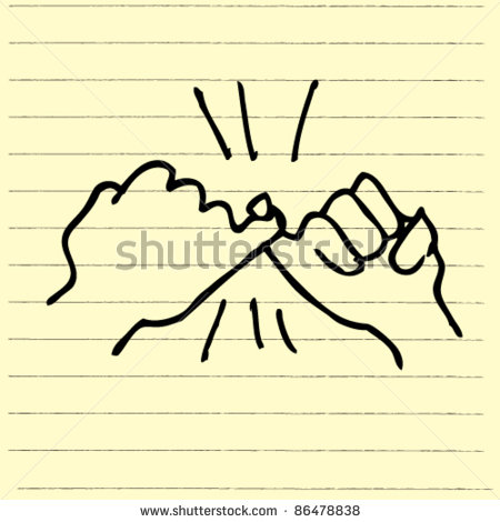 Finger clipart promise. Stock photos panda free