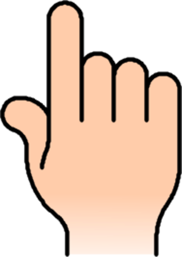 Thumb clipart vector. Free sprained finger cliparts
