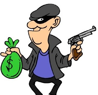robber clipart rob